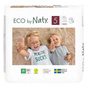Naty Eco Oefenbroekjes Maat 5 (20 stuks)