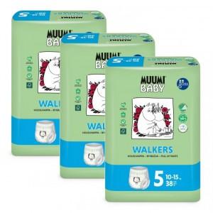 Muumi Eco Oefenbroekjes Maat 5 (10-15kg x 3 pakken) Voordeelpakket