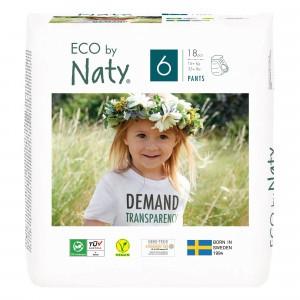 Naty Eco Oefenbroekjes Maat 6 (18 stuks)