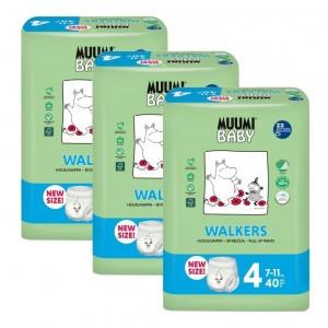 Muumi Eco Oefenbroekjes Maat 4 (7-11kg x 3 pakken) Voordeelpakket