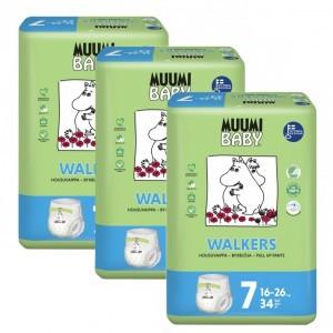 Muumi Eco Oefenbroekjes Maat 7 (16-26kg x 3 pakken) Voordeelpakket