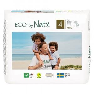 Naty Eco Oefenbroekjes Maat 4 (22 stuks)