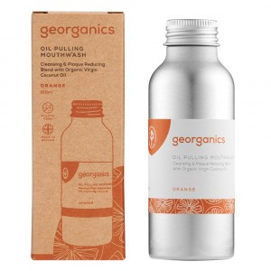 georganics Mondspoeling Oil Pulling - Orange (100 ml)