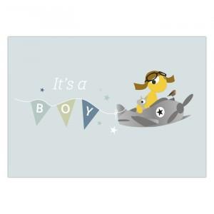 "Olli + Jeujeu Postkaart ""Boy"""