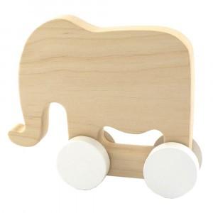Pinch Toys Houten Duwfiguur Maxi Olifant