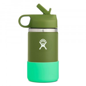 Hydro Flask Insulated Drinkfles Kids Wide Mouth (354 ml) Olive