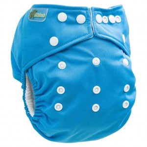 Little Lamb One Size Nappy Blauw
