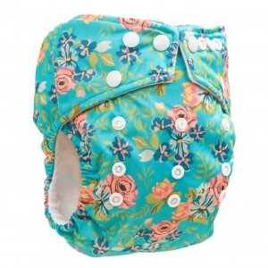 Little Lamb One Size Nappy Floral