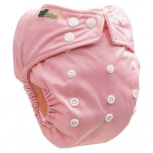 Little Lamb One Size Nappy Blush Pink