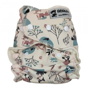 Anavy One Size Luier met snaps Red Riding Hood (4-15 kg)
