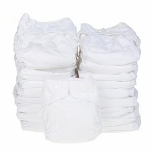 Little Lamb Voordeelpakket Maxi Onesize Wit (20 stuks)
