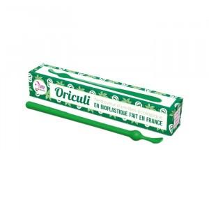 Lamazuna Herbruikbaar Oorstaafje uit bioplastic Oriculi  - Groen