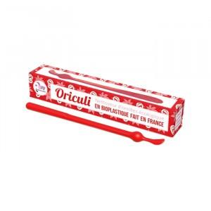 Lamazuna Herbruikbaar Oorstaafje uit bioplastic Oriculi - Rood