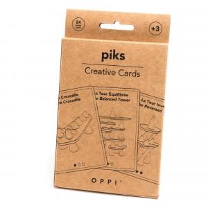 Oppi Piks 24 Creatieve Kaarten