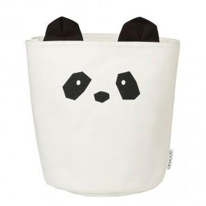 Liewood Stoffen Basket Groot Panda Creme de la creme