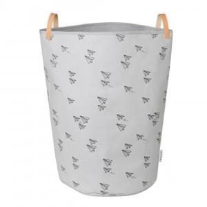 Liewood Stoffen Basket Papieren Vliegtuigje Dumbo Grijs
