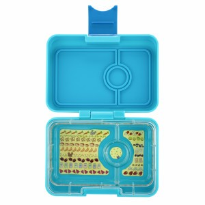 Yumbox Mini Blue Fish met Kittycat Tray