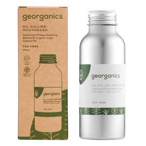 georganics Mondspoeling Oil Pulling - Tea Tree (100 ml)