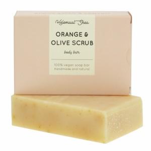 HelemaalShea Orange & Olive, Scrubzeep