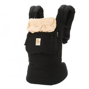Ergobaby Babydraagzak Original Zwart Camel