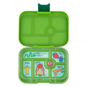 Yumbox Original Go Green met Tray Funny Monsters