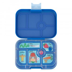 Yumbox Original True Blue met Tray Funny Monsters