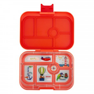 Yumbox Original Saffron Orange met Tray Explore