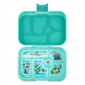 Yumbox Original Surf Green met Tray Kite