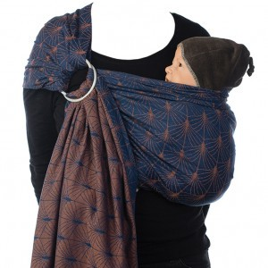 Babylonia BB-Sling Ornate Blue