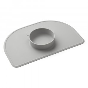 Liewood Silicone Placemat Oscar Dumbo Grijs