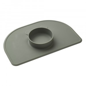 Liewood Silicone Placemat Oscar Groen