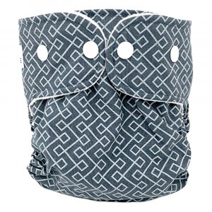WeeCare Overbroekje Medium Infinity Dusty Blue (6-10 kg)