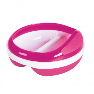 Oxo Tot Voedingsbord met 2 vakjes Roze