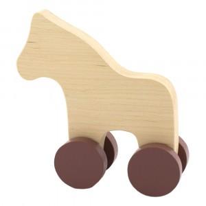 Pinch Toys Houten Duwfiguur Maxi Paard