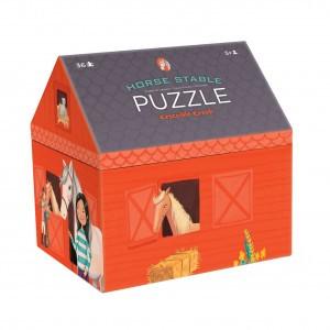 Crocodile Creek Box puzzel paardenstal (36 stukken)