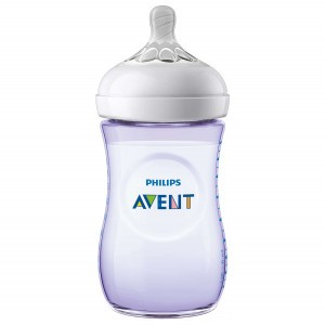 Avent Natural 2.0 Zuigfles 260 ml Paars