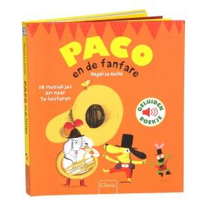 Clavis Geluidenboekje Paco en de fanfare