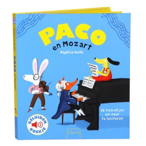 Clavis Geluidenboekje Paco en Mozart