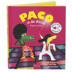 Clavis Geluidenboekje Paco in de disco
