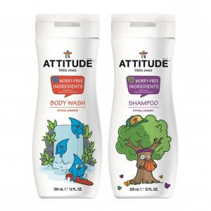 Attitude Little Ones In Bad: Douchegel en Shampoo 355ml (geurvrij)