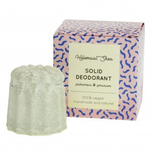 HelemaalShea Solid Deodorant, Palmarosa & Geranium