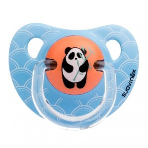 Suavinex Fopspeen Anatomisch Silicone +6 maand Panda