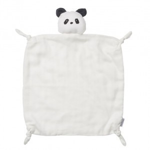 Liewood Knuffeldoekje Panda Creme de la creme