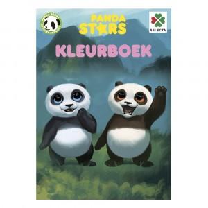 Selecta Kleurboek Panda Stars