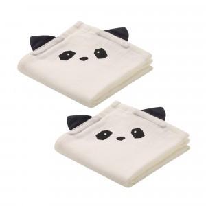 Liewood Tetradoeken ( 2 pack ) Hannah Panda Creme de la creme