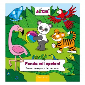 Clavis Zoekboek Panda wil spelen!