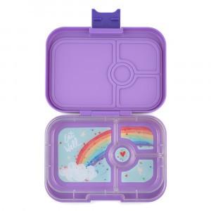 Yumbox Panino Dreamy Purple met Tray Rainbow