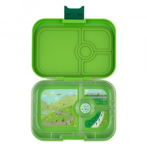 Yumbox Panino Go Green met Tray Bike Race