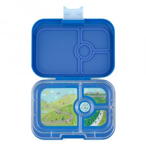 Yumbox Panino True Blue met Tray Bike Race