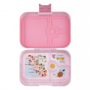 Yumbox Panino Hollywood Pink met Tray California